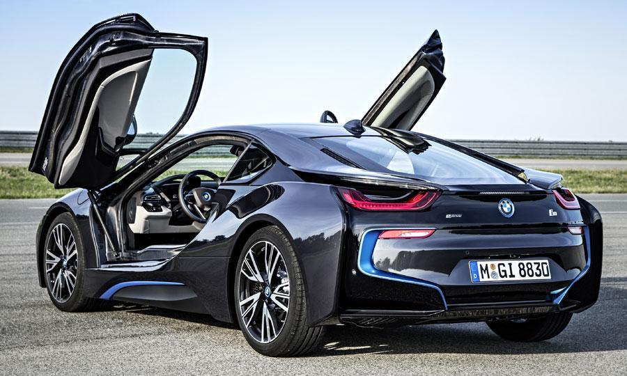BMW I8 Frankfurt Motor Debut Rear 3 4