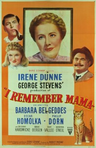 I remember mama poster