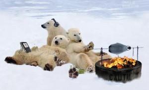 Grillin' an chillin'