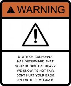 textbook warningsign